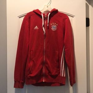Adidas FC Bayern Munchen hooded sweatshirt